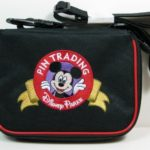 Walt Disney Parks Small Pin Trading Display Shoulder Strap Mickey Bag Case