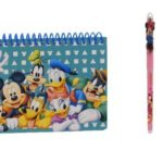Disney Mickey Mouse and Friends Spiral Autograph Book – Teal by Goofy Mickey Donald