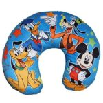 Disney Mickey Mouse, Donald Duck, Goofy, and Pluto Travel Neck Pillow