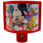 Disney Curved Mickey Mouse Clubhouse Shade Nightlight