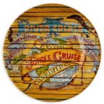 Disney Parks Authentic Jungle Cruise Plate