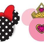 Disney Minnie Polka Dots Princess Crown Antenna Topper (2 Pack)