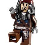 LEGO Pirates of the Caribbean Jack Sparrow Minifigure – Nintendo Wii