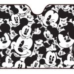 Plasticolor 003689R01 Mickey Mouse Expressions Windshield Sunshade