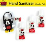 Disney Hand Sanitizer with Classic Mickey and Minnie Mouse Combo Packs (4, Mickey Mouse Combo Pack)