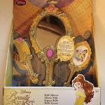 Disney Collection Beauty and the Beast Princess Belle Mirror & Brush Set