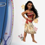 RoomMates RMK3383GM Disney Moana Peel and Stick Giant Wall Decals