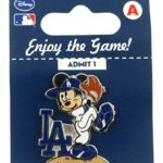 MLB LA Dodgers Disney Mickey Wind Up Collectible Trading Pin