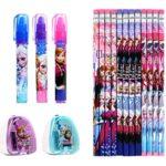 Disney Frozen Elsa and Anna Kids Stationery Set (17 Pcs)