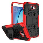 Galaxy On5 Case, On5 Case, On 5 Case, VPR [Drop Protection] [stand] Premium Dual Layer Shock Absorption Anti-Scratch Armor Defender Protective Case with Kickstand for Samsung Galaxy On5 (Red)