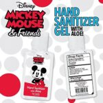 Disney Hand Sanitizers with Classic Mickey and Minnie Mouse