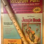 JUNGLE BOOK RECORDER FUN: Teach Yourself The Easy Way (Includes Recorder, Recorder Fun Instruction Book, Demonstration and Play-Along Cassette, Jungle Book Songbook)