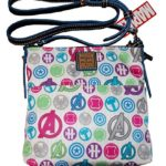 Dooney & Bourke Disney Marvel Avengers Letter Carrier Crossbody Bag