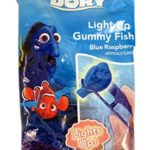 Disney's Finding Dory Light Up Gummy Fish Candy with Tongs, 1.06 oz (1)