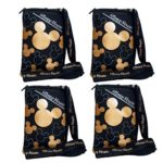 Disney Mickey Mouse Lanyard 4 Pack Gold