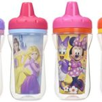 The First Years Disney Insulated Sippy Cup, Minnie and Princess, 9 Ounce (Color and design may vary)