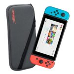 i.VALUX DOBE Protective Soft Storage Bag Carry Pouch for Nintendo Switch [Gray]