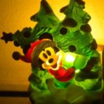 Disney Mickey Mouse Christmas Nightlight Extra Bulb UL Listed NEW 120 Volts