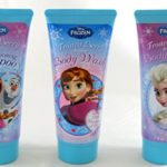 3 Piece Disney Frozen Set, 1 Conditioning Shampoo, 1 Body Wash, & 1 Body Lotion, Frosted Berry Scent, 7 Fl. Oz.