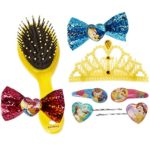 DIsney Princess Beauty and the Beast Girls Hair Accessories Gift Set