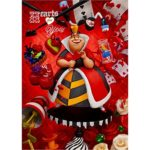Disney Alice in Wonderland Hearts For You 3D Lenticular Greeting Card
