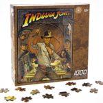 Disney Parks Exclusive Indiana Jones 1000 Piece 22″ X 27″ Signature Jigsaw Puzzle